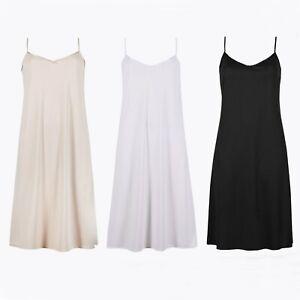 M&S Full Slip New Marks & Spencer Womens Anti-Static Full Length Underwear Slips