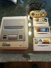 Super Nintendo Entertainment System Grau Spielekonsole