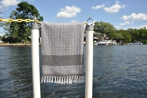 NISA LUXE Peshtemal Turkish Bath Beach Gym Sauna Yoga Genuine Handwoven Towel
