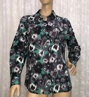 WEEKEND BY JANE LAMERTON SIZE 16  COTTON SHIRT