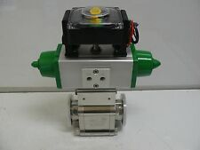 NEW A&N CORPORATION E4200-QF50-AS-PI HIGH VACUUM VALVE ACTUATECH GS 30-F05-F07