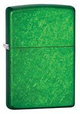 "Zippo ""Meadow Green"" Finish Lighter, Full Size, 24840"