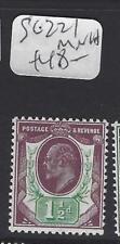 GREAT BRITAIN   (PP2007B)  KE  1 1/2D  SG 221    MNH