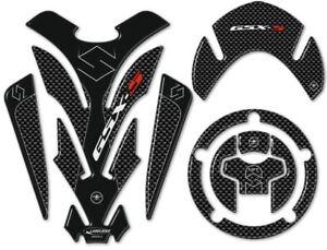 kit ADESIVI 3D PROTEZIONI in resina compatibili per MOTO GSXS SUZUKI GSX-S 1000