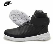 NIB NIKE Mens 8.5 SWOOSH HUNTER BLACK 832820 001 BOOTS LIFESTYLE SHOES NEW $250