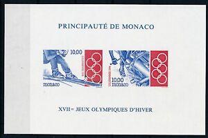 [I1735] Monaco 1994 olympics good sheet very fine MNH $250