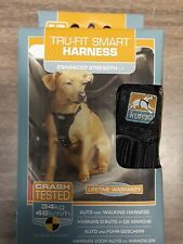 NEW Tru-Fit Smart Harness for Dogs, Small ~ Black ~ Kurgo
