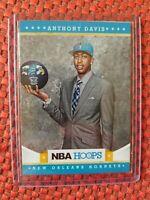 2012-13 Panini NBA Hoops #275 Anthony Davis Hornets Lakers RC Rookie