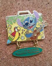 Disney Pin Stitch Tiki Bird Suitcase Tokyo Disney Resort Vacation Packages