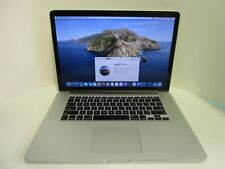 Apple MacBook Pro 11,3 Core i7 2.5GHz  512 SSD 15-inch Mid 2014 macOS Installed