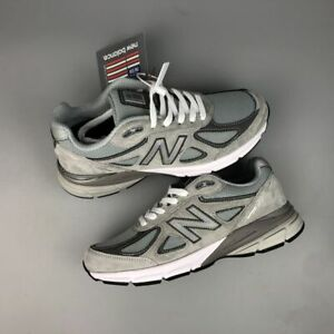 New Balance Men's 990V4 Gray & Pink- Men and Women Shoes New Limited Edition