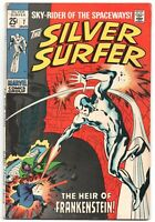 Silver Surfer 7 1st Series Marvel 1969 FN VF Stan Lee John Buscema