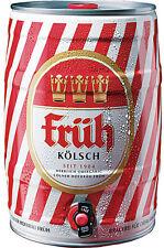 (2,609€/l) Früh Kölsch 2x 5l Fässer pfandfrei