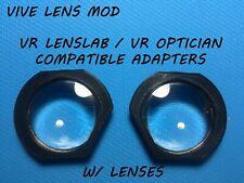 HTC Vive Lens Mod for VR Optician & VR Lens Lab   V 2.03   W/ Lenses   gear vr