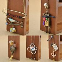 Fashion Charm Women Chain Retro Bib Choker Pendant Statement Necklace Jewelry