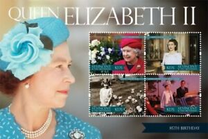 St. Vincent 2011 - SC# 3798 Queen Elizabeth II 85th Birthday - Sheet of 4 - MNH