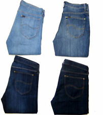 Lee Cotton Mid Rise Classic Fit, Straight Jeans for Men