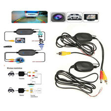 2.4G Wireless Video Transmitter Receiver for Car Rear Backup View Parking Camera