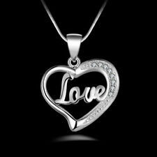 Silver Plated heart Charm Fashion Necklaces & Pendants