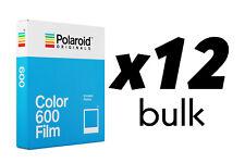 12x Film Snapshot Colour Polaroid Originals Colour 600 (12pz. Bulk)