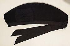 British Scottish Highland Pipers Black Glengarry Cap Hat 7