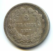 Louis Philippe Ier (1830-1848) 2 Francs 1837 B Rouen