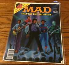 Mad Magazine Back Issue #251 December 1984 Salutes The Jacksons