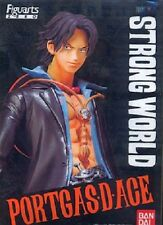 New Bandai Figuarts Zero One Piece Portgas D. Ace Strong World PAINTED