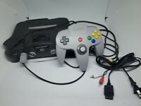 Nintendo 64 N64 System Console Official OEM Controller Bundle NUS-001(USA)Tested