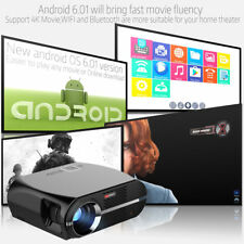4600 Lumens 1080P Home Theater Cinema HD TV PC DVD 3D 4K LCD LED Projector HDMI