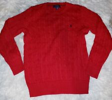 Polo Ralph Lauren Red Sweater Boys Large