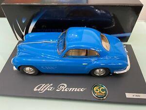 Alfa Romeo 6C 2500 SS Villa d´Este 1951 Light Blue limited in 1:18