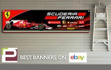 SCUDERIA FERRARI 2017 F1 Banner, per garage, officina, Sebastian Vettel, Kimi