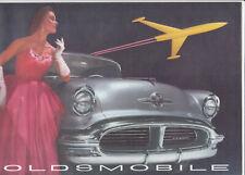 1956 Oldsmobile poster of car models