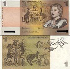 1982 Australian aUnc Last $1 Johnston & Stone Paper Banknote variety Issue r78