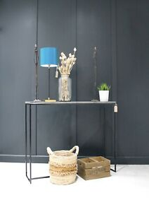 Mild Steel Framed Console table