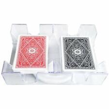 Playing Card Tray - Yh Poker 2 Deck Revolving Rotating Canasta Playing Card Tray