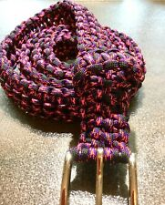BELT DYNAMIC COLOR  REAPER  PARACORD  HANDMADE, ANY SIZE
