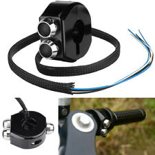 "25MM 1"" Motorcycle Handlebar Horn Engine Power ON OFF Switch Control 3 Buttons"