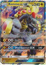Pokemon Kommo-O GX SM71 Ultra Rare Black Star Promo Card NM/M (Normal Size)