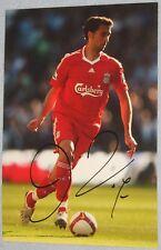 Alvaro Arbeloa Firmada Liverpool 12x8