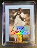 2005 Donruss Greats LEE SMITH Autograph #51 Chicago Cubs Auto