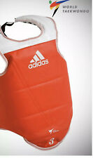 New ADIDAS WORLD TAEKWONDO APRROVED REVERSIBLE TAEKWONDO CHEST PROTECTOR
