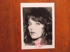 """PAMELA  SUE  MARTIN (""""Nancy  Drew""""/""""Dynasty"""")Signed 5 x 7 Black & White Photo"""