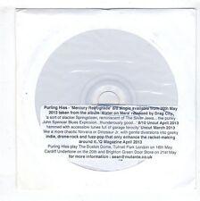 (HB419) Purling Hiss, Mercury Retrograde - 2013 DJ CD
