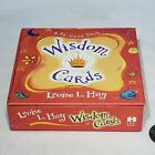 Wisdom Cards Louise L Hay 50 Affirmation Cards Box Set EUC 55 of 63 cards