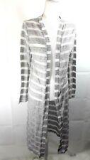 Love J Women's Size L Full Length Maxi Cardigan Long Sleeve Open Front Sweater