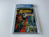 WEREWOLF BY NIGHT 21 CGC 9.4 WHITE PAGES MIKE PLOOG MARVEL COMICS 1974