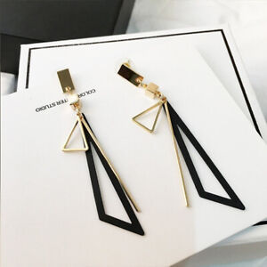 New Gorgeous Drop Earrings Women 18K Gold Jewelry Gift Free Shipping A Pair/set