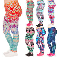 Women Sports Leggings Yoga Gym Stretch Trousers Workout Fitness Running Pants US
